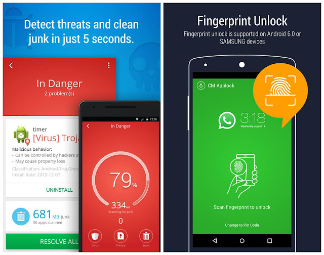 CM Security AppLock AntiVirus Free Download