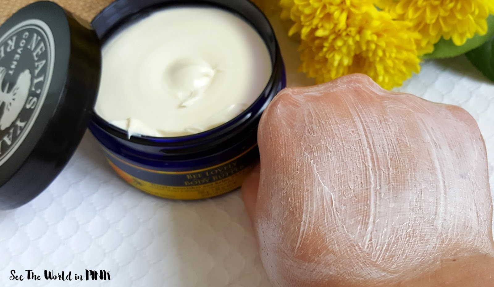 Skincare Sunday - Neal's Yard Remedies Bee Lovely Body Butter Review