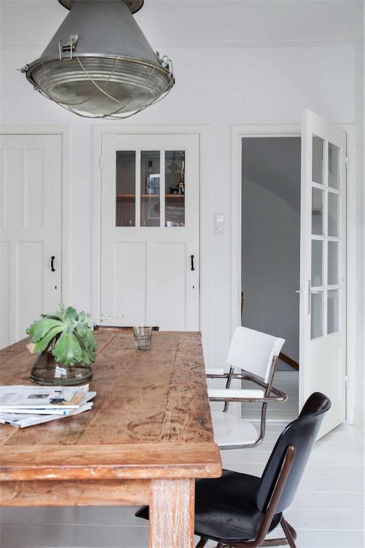 mesa de madera sin tratar chicanddeco