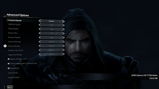 Cara settingan optimal bermain Middle Earth shadow Mordor Proci Intel Pentium