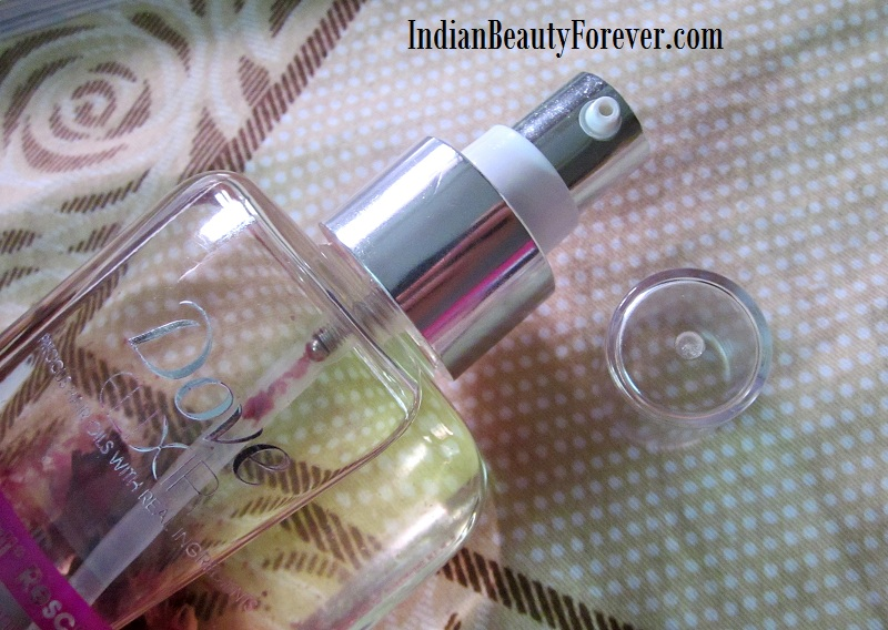 Dove Elixir Rose and Almond oil Hair fall rescue Review
