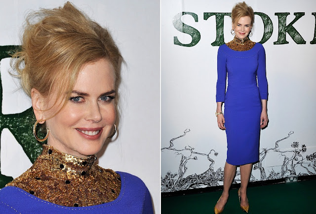 Nicole Kidman - Celebrity Earrings Trend 2013