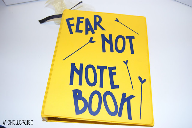 Anxiety Help Notebook