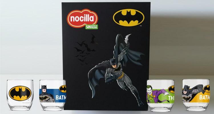 Batman celebra su 80 aniversario con Nocilla