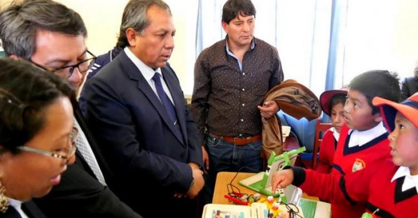 MINEDU: Viceministro de Gestión Institucional presenta en Cusco resultados de la ECE 2018 - www.minedu.gob.pe