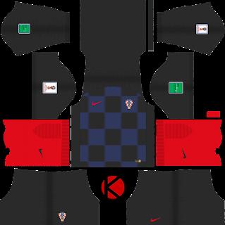 Croatia 2018 World Cup Kit -  Dream League Soccer Kits
