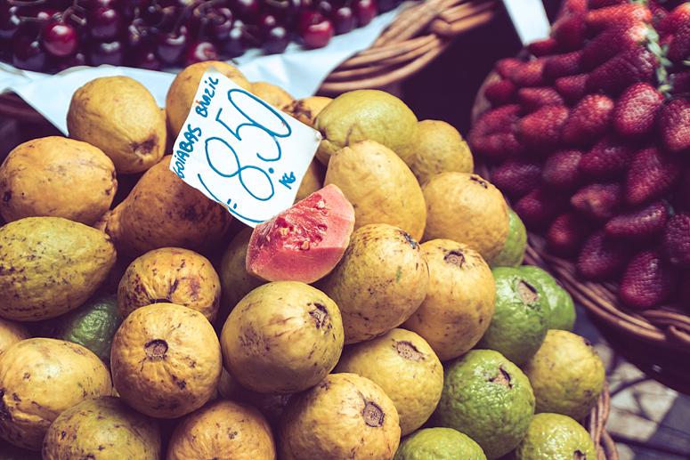 Gujawa Mercado dos Lavradores Funchal