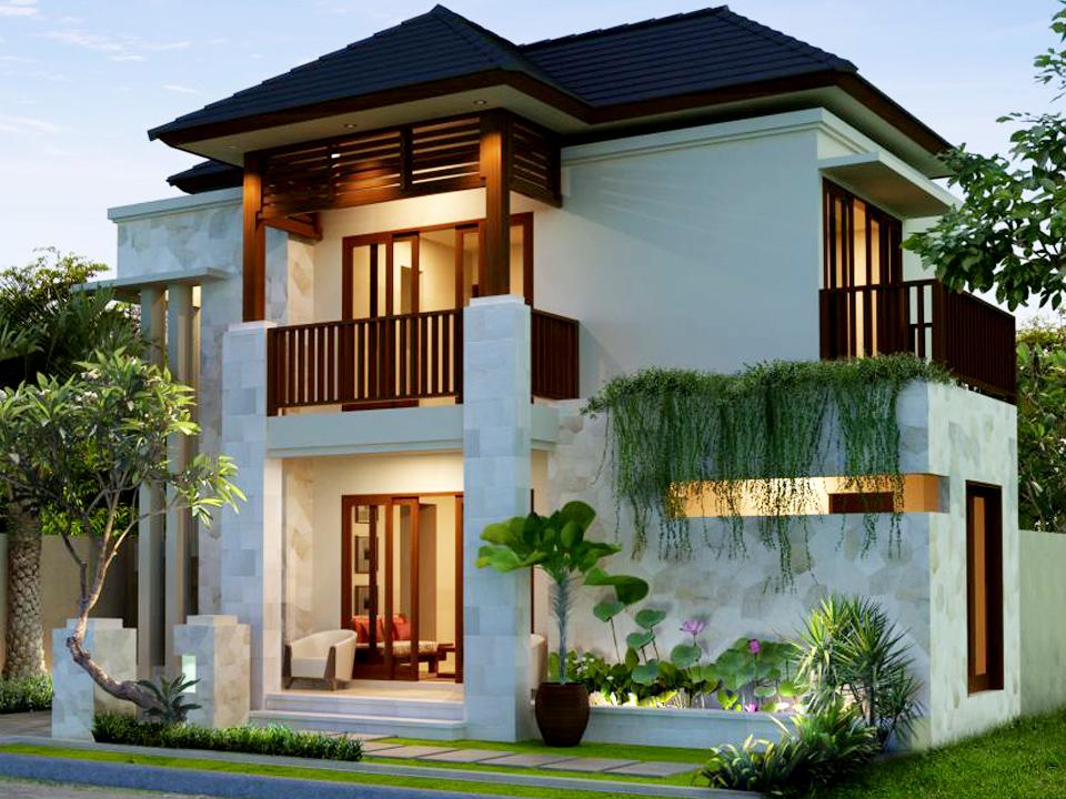 50 model desain rumah minimalis 2 lantai