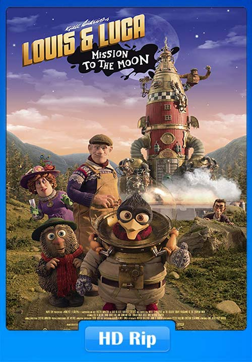 Louis and Luca Mission to the Moon 2018 720p WEB-DL.x264 | 480p 300MB | 100MB HEVC Poster