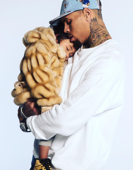 Chris Brown Shares Adorable Photo With His Daughter, Royalty