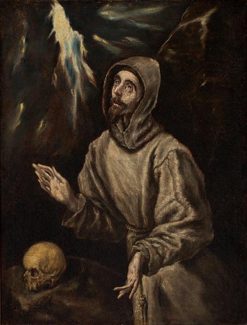 Extase de São Francisco, El Greco