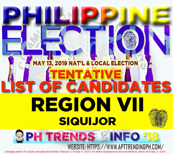 The Easiest Siquijor Siquijor Election Results {Tiburon Es Rojos}