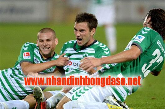 Greuther Furth vs Hamburg 0h30 ngày 14/3 www.nhandinhbongdaso.net