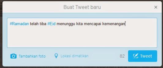 Cara membuat Icon pada Twitter / Icon Islami di Twitter