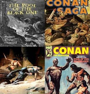 Robert E. Howard Conan és a fekete óriások tava