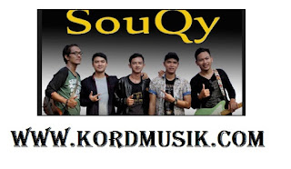 Kunci Gitar SouQy - Aku Sayang Banget Sama Kamu