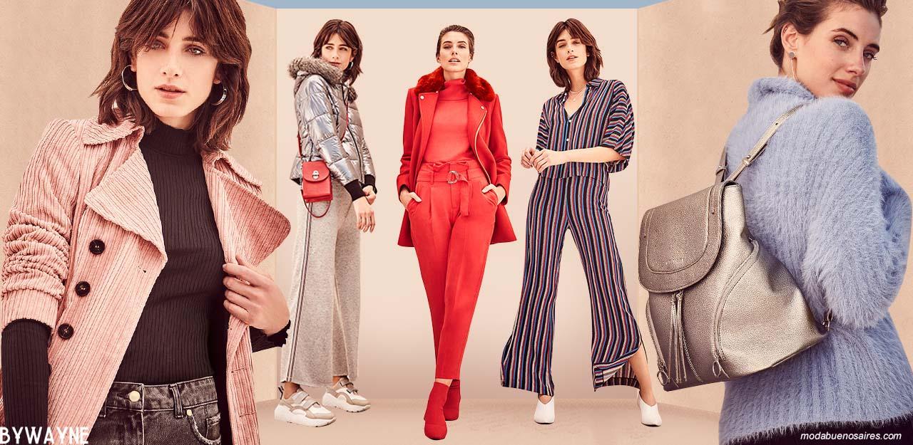 Moda otoño invierno 2019 casual urabana. │Ropa de mujer moda otoño invierno 2019.