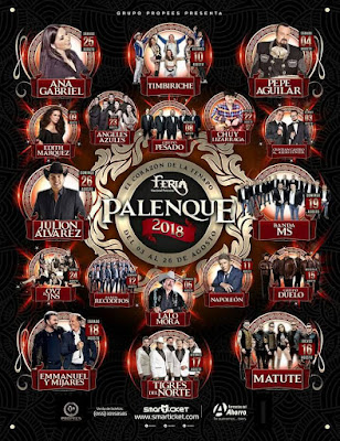 palenque fenapo2018