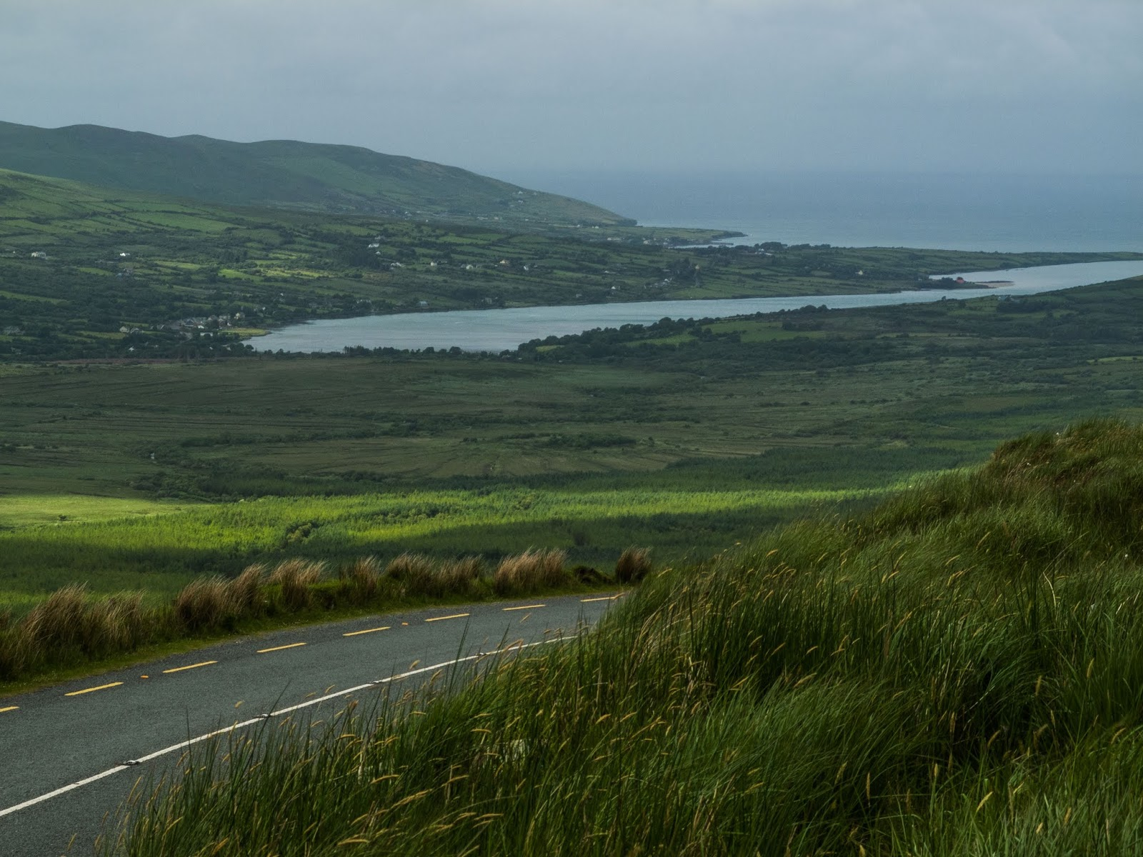 Side road views from the R560 on the way to Conor Pass in County Kerry.