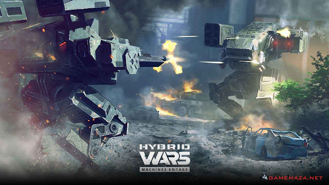 Hybrid Wars Gameplay Screenshot 2