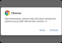 Cara Install Aplikasi dari Sumber Tidak Dikenal di Android Stock