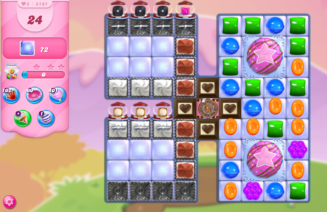 Candy Crush Saga level 5121