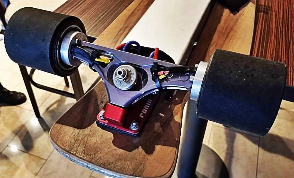 Wackyboards Hub Motor Electric Skateboards