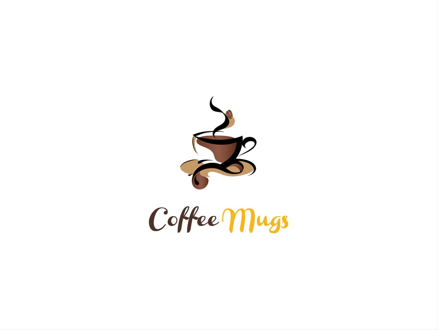 Coffee Mug Logo Design Inspiration
