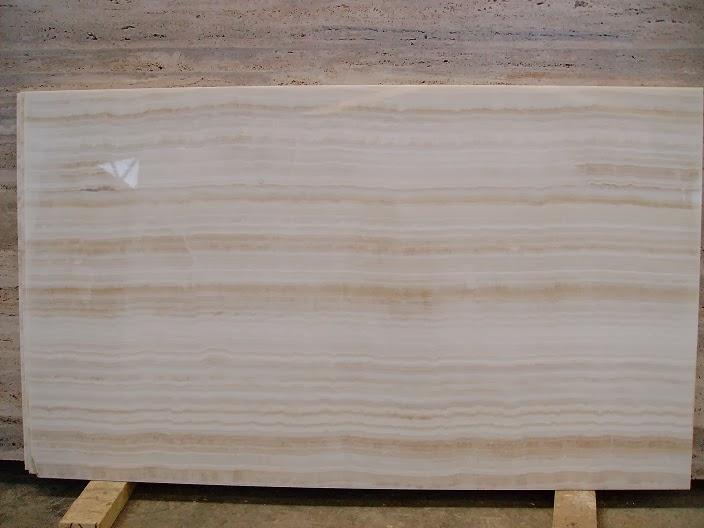 Marmer Putih White Water Onyx Marble Granite