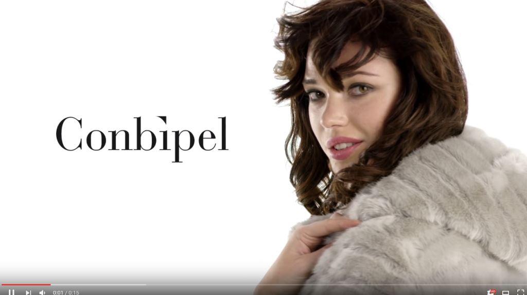 modella Nuova Pubblicità Conbipel: 2 nuovi spot di ottobre 2016