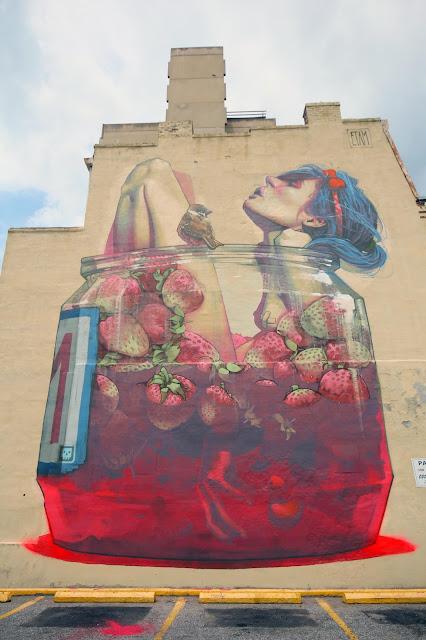 Street Art By Etam Cru In Richmond, USA - 2nd most popular mural of august 2013