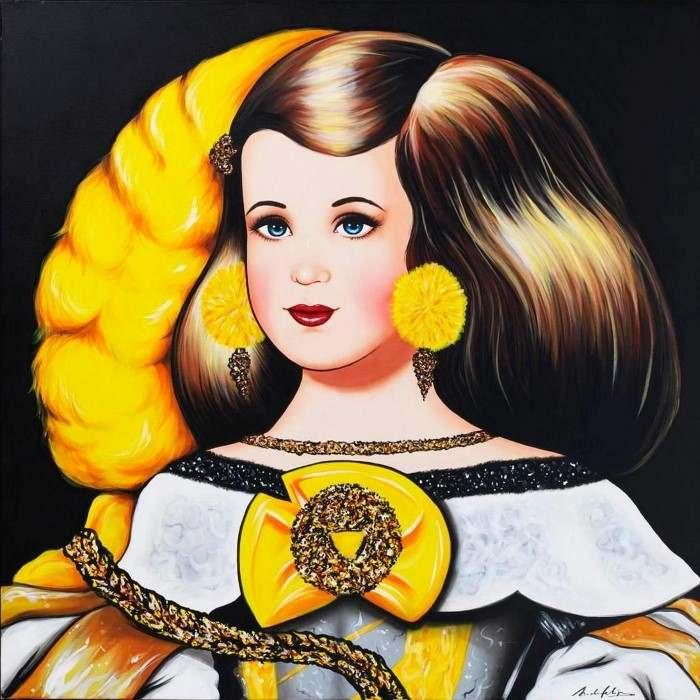 В стиле поп-арт. Antonio de Felipe