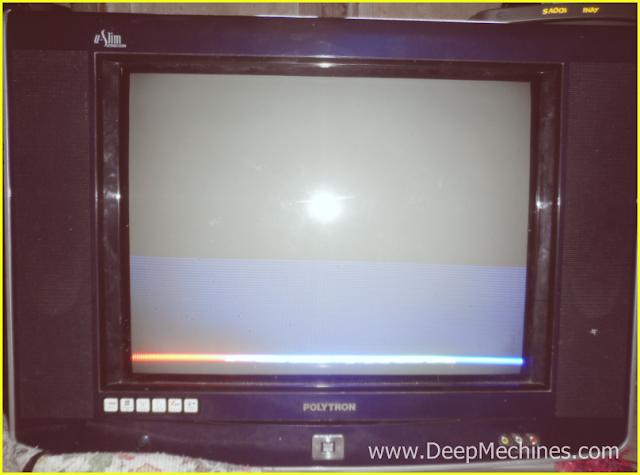 Beberapa Gejala Kerusakan TV Polytron (U-Slim) 21-Inc, Model: PS 52UM29P