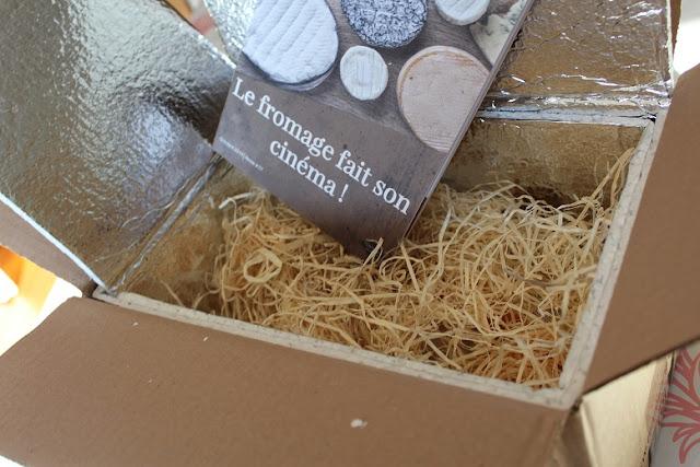 une box de fromage