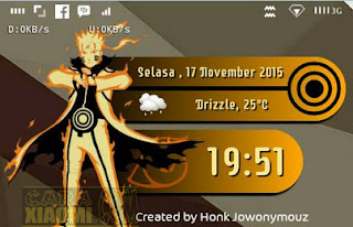 6 Template ZW Anime Naruto For Zooper Widget Pro Android
