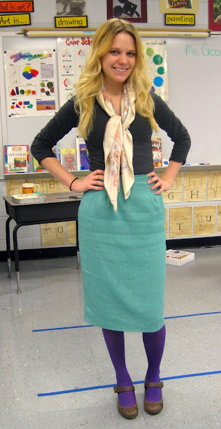 Cassie Stephens Art Teacher Wore #5