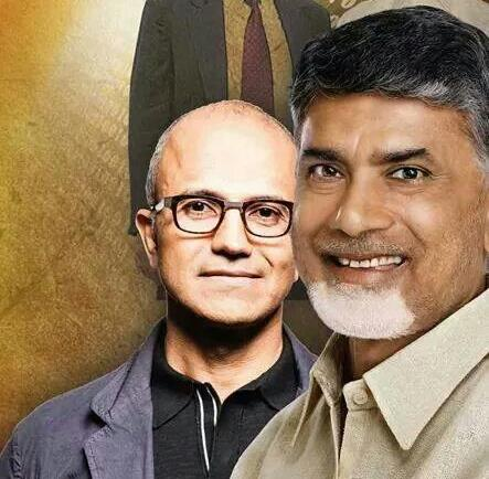 Andhra Pradesh CM Chandrababu Naidu has drawn widespread ridicule by claiming that he inspired Satya Nadella to become Microsoft CEO.  He has claimed that he started promoting Information Technology so early in AP, it inspired Satya Nadella, to take up a career in the subject, which eventually saw him becoming Microsoft CEO.  Son of an IAS officer Nadella Yugandher, Satya Nadella was born in Anantpur and had his early schooling in Hyderabad.