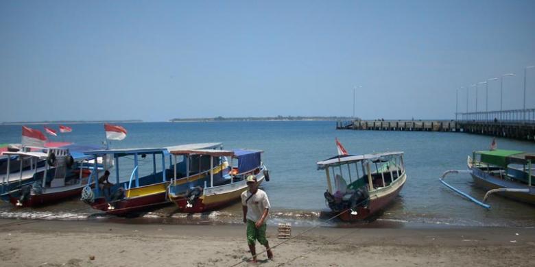Harga tiket penyeberangan ke Gili Trawangan dari bangsal lombok