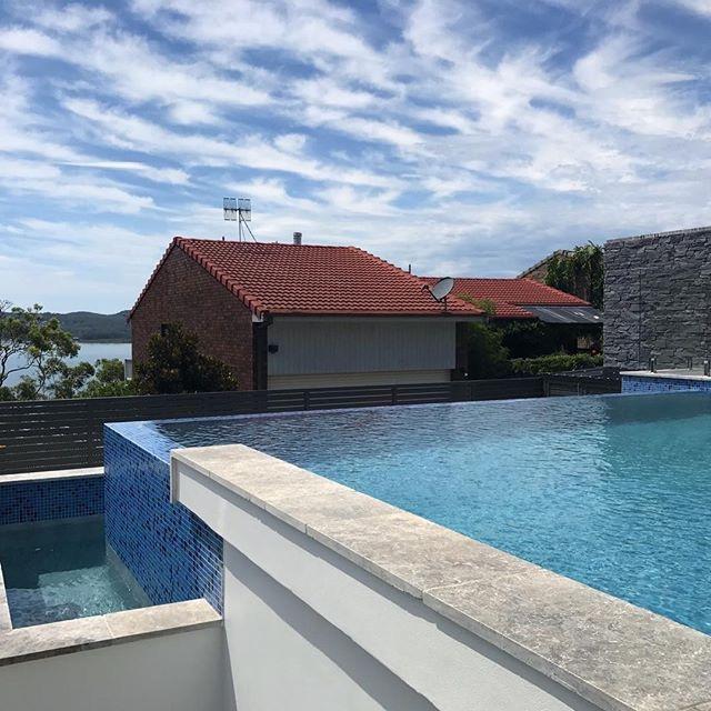 Laticrete australia conversations newcastle pool project for Pool design newcastle