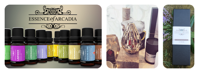 Essence of Arcadia - aromatherapy / essential oils to unify physiological, psychological and spiritual well-being. Made in Britain.