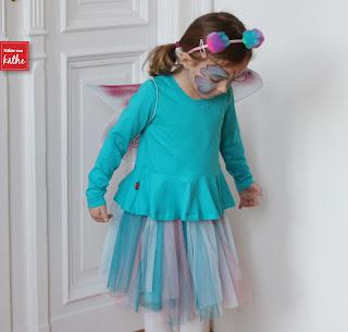 schnelles Kinderkostüm: Schmetterlingselfe