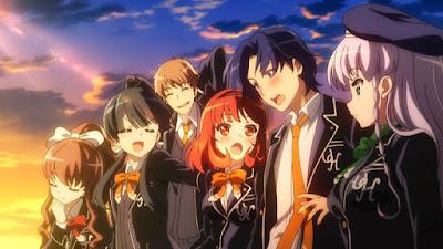 Anime Online Ushinawareta Mirai wo Motomete: Ushinawareta Natsuyasumi wo Motomete