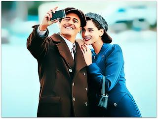 Em Guerra por Amor - Arturo Giammaresi (Pif) e Flora (Miriam Leone)
