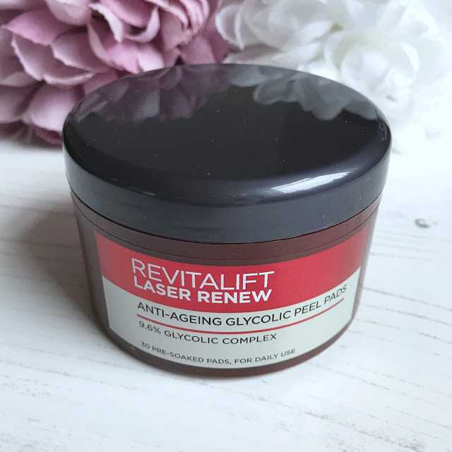 L'Oreal Revitalift Laser Renew Anti Ageing Glycolic Peel Pads