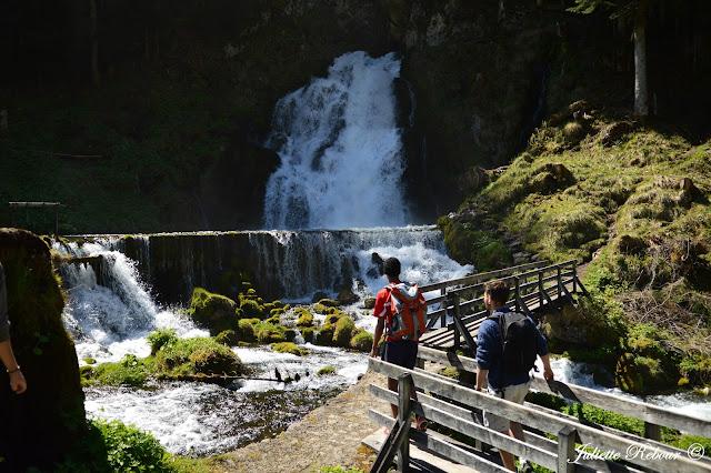 Cascades en Suisse