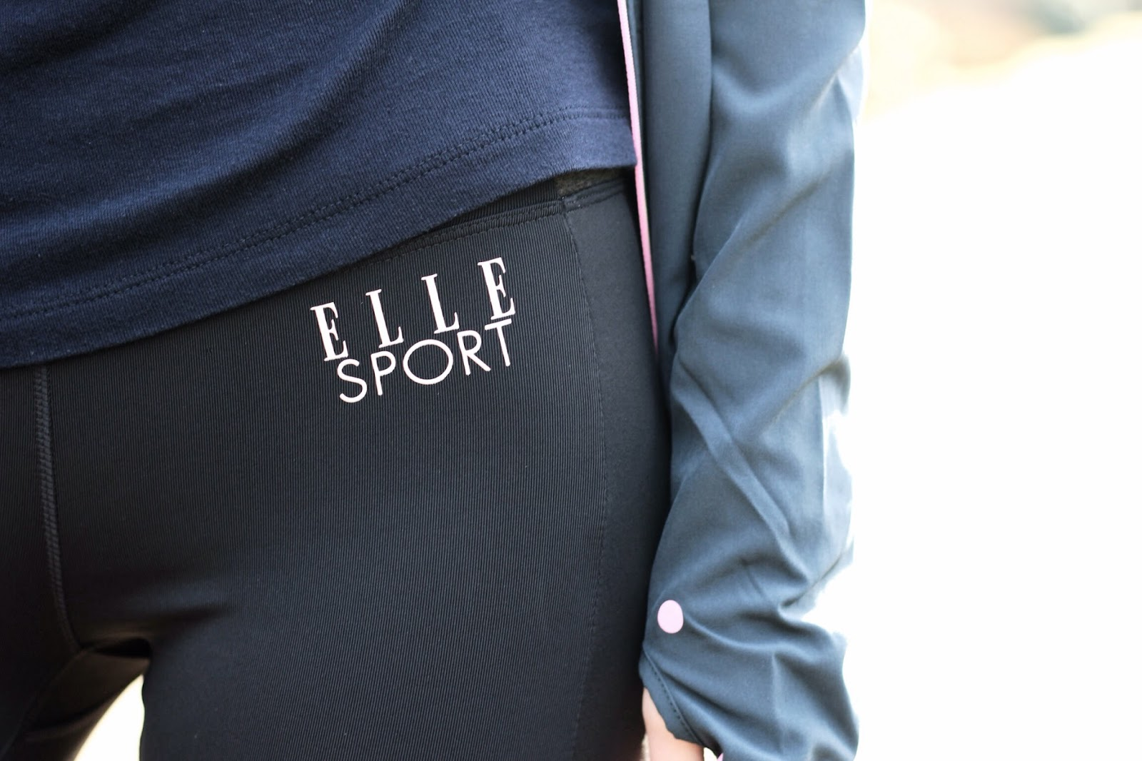 Fashion blogger elle sport clothing