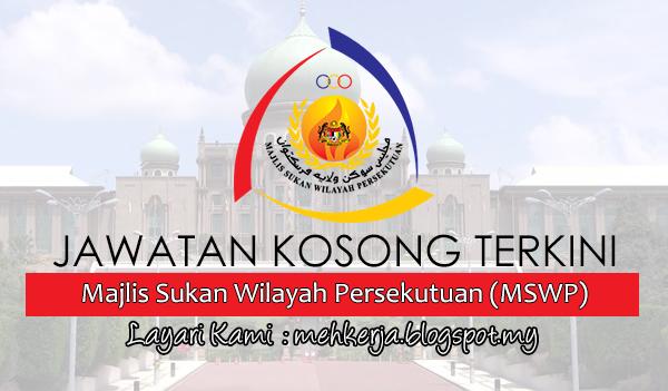 Jawatan Kosong di Majlis Sukan Wilayah Persekutuan (WIPERS)