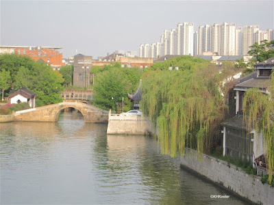 view from  Wumen Bridge, Suzhou, China