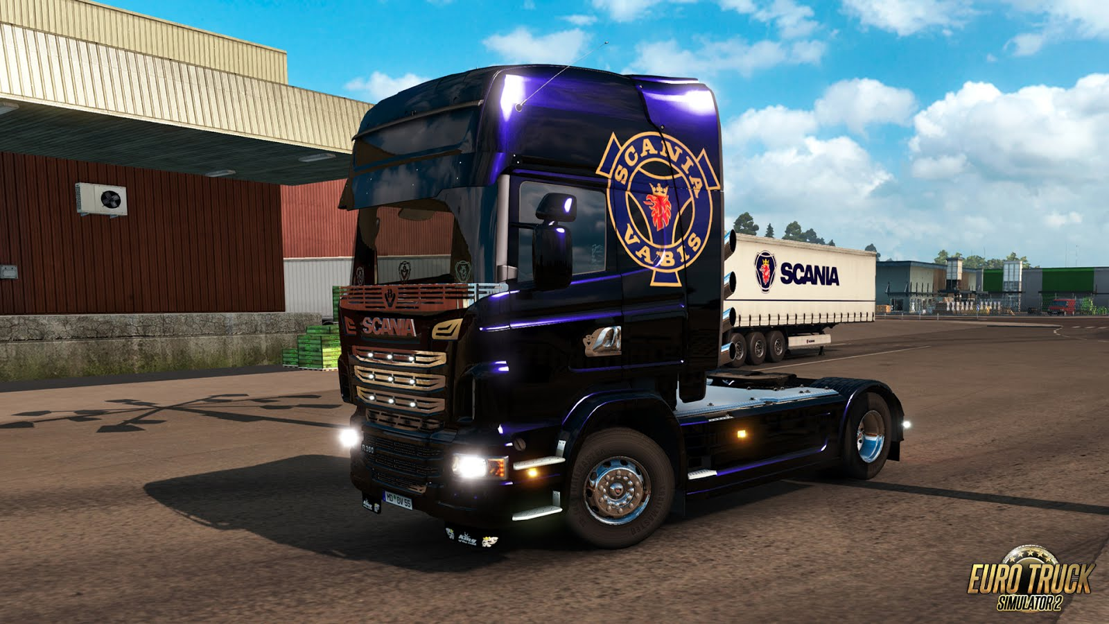 ETS2 - Mighty Griffin DLC