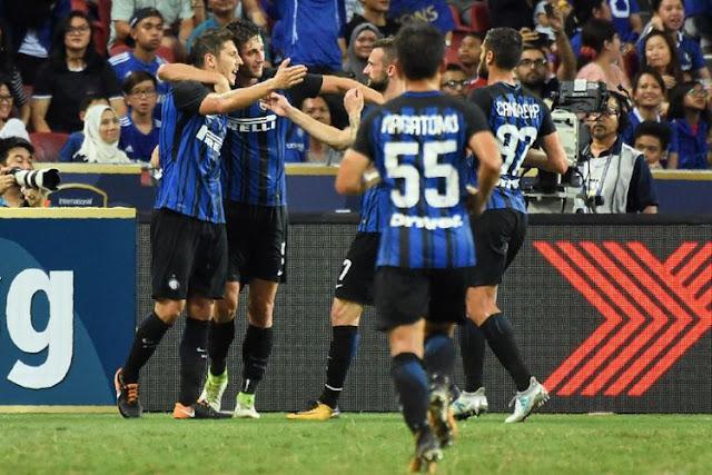 Inter Milan Juara ICC 2017 Setelah Kalahkan Chelsea di Singapura